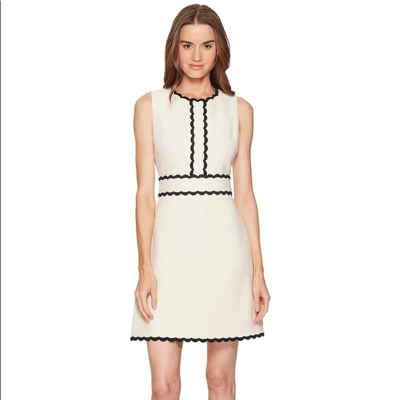 051ee9d1328be kate spade Dresses | New Scallop Tweed Dress | Poshmark